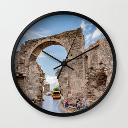 the city gate of Side Wall Clock