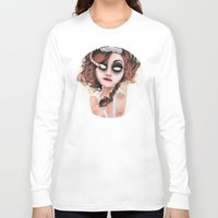 rocky horror Long Sleeve T-shirts featuring Untitled III by Rouble Rust