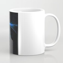 Blue Lightning Coffee Mug