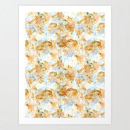 Reef pattern Art Print