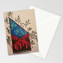 Red Tent Rune Stationery Cards