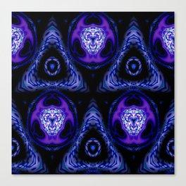 Subatomic Madness Pattern Canvas Print