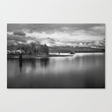 a view of stanley's park Canvas Print