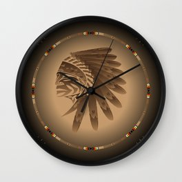 Honor and Strength Wall Clock