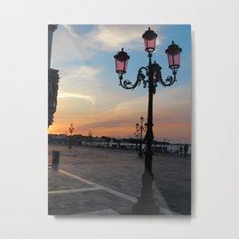 Venice at Dawn 2 Metal Print
