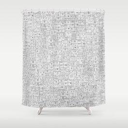 Favela rising Shower Curtain