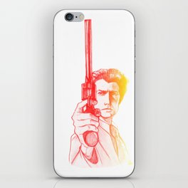 Harry Callahan - Clint Eastwood iPhone Skin