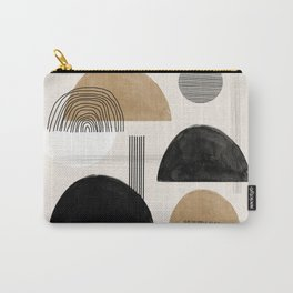 Paper Collage Art Carry-All Pouch