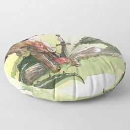 Warrior's rest Floor Pillow