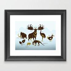 God's Zoo Framed Art Print