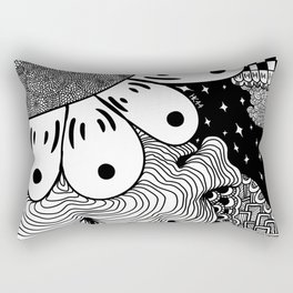 Zentangle 6 Rectangular Pillow