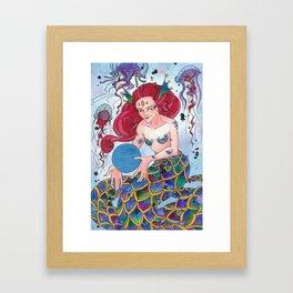 Oceaniidae Framed Art Print