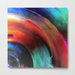 Quarter Round Colors Metal Print