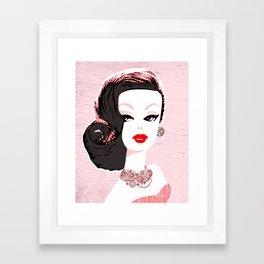 Barbie in Jewels Framed Art Print