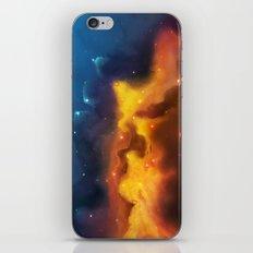 Sailing Beyond Space iPhone & iPod Skin