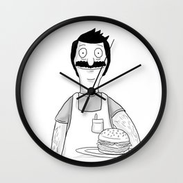 Have a Burger Wall Clock