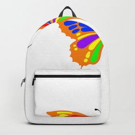 beautiful butterfly Backpack