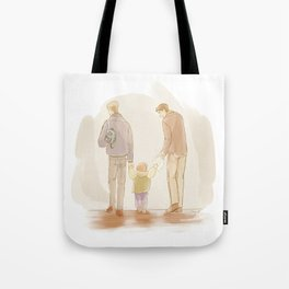 Becoming a Family Tote Bag