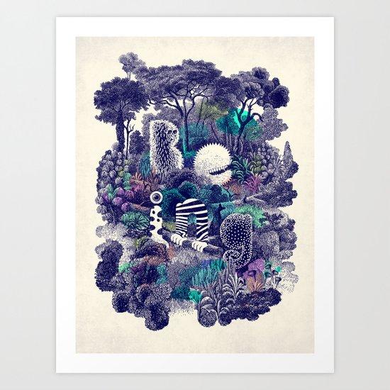 Biodiverse Art Print