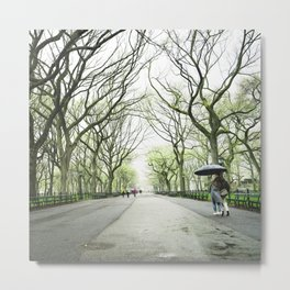 New York City Romance Metal Print