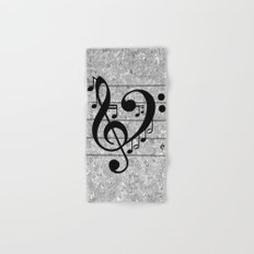 Love Music Hand & Bath Towel