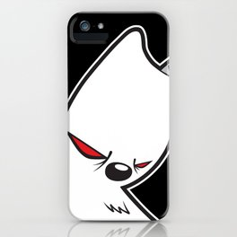 The Killer Gerbil iPhone Case