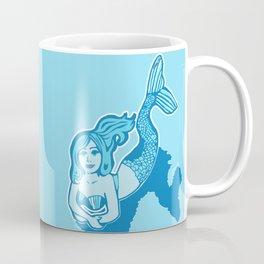 Blue Mermaid Coffee Mug