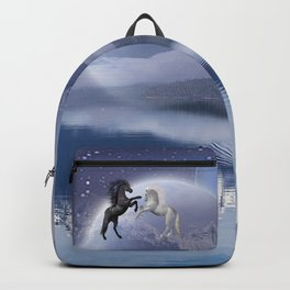 Horses and Moon Backpack