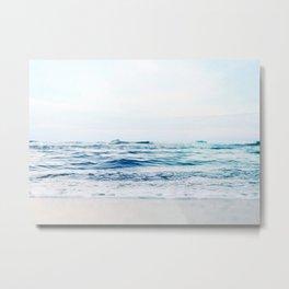 Calm Waves Metal Print