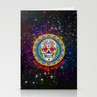 day of the dead Stationery Cards featuring Day of the Dead by Gary Grayson