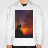 italian Hoodies featuring Italian Sunset by Ruby Tedeschi