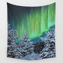 Northern Lights, Algonquin Park Wall Tapestry