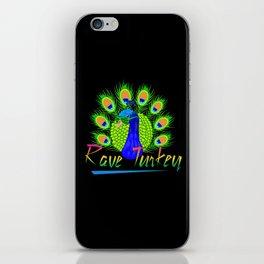 Rave Turkey iPhone Skin
