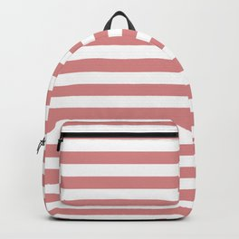 Rose Gold Stripes Backpack