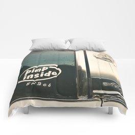 ain't I clean, bad machine Comforters