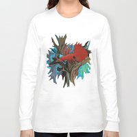 band Long Sleeve T-shirts featuring Betta's Band by Distortion Art