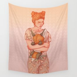 The Lady who wouldn't grow up Wall Tapestry
