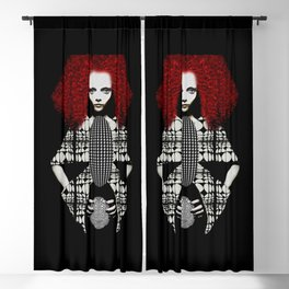 Red Blackout Curtain