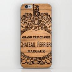 French wine box iPhone & iPod Skin