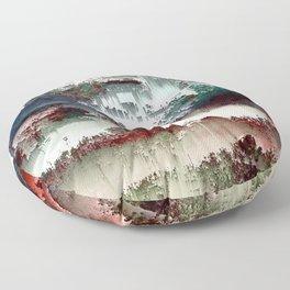 Untitled tree scene Floor Pillow