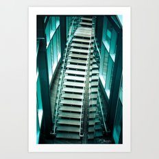 Revel Steps Art Print