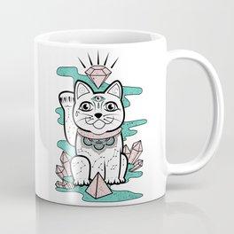 Lucky Cat Coffee Mug