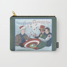 Superheroic Seasons Greetings (Chestnuts Roasting) Carry-All Pouch