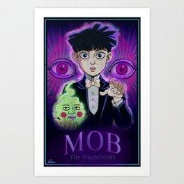 Mob the Magnificent Art Print