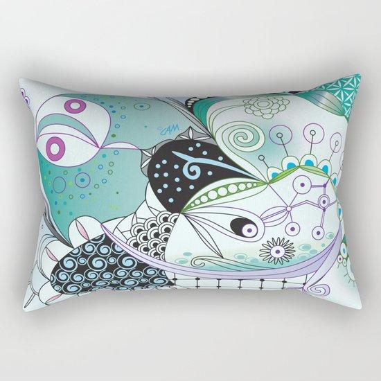 Winter tangle Rectangular Pillow