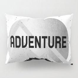 Adventure Silver Sunrise Pillow Sham