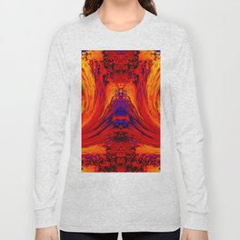 Blodger Abstract Long Sleeve T-shirt