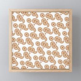 Rosette chain Framed Mini Art Print