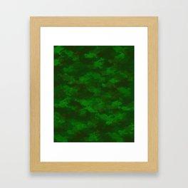 Camo Design Framed Art Print