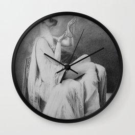 Moonlight becomes you Wall Clock